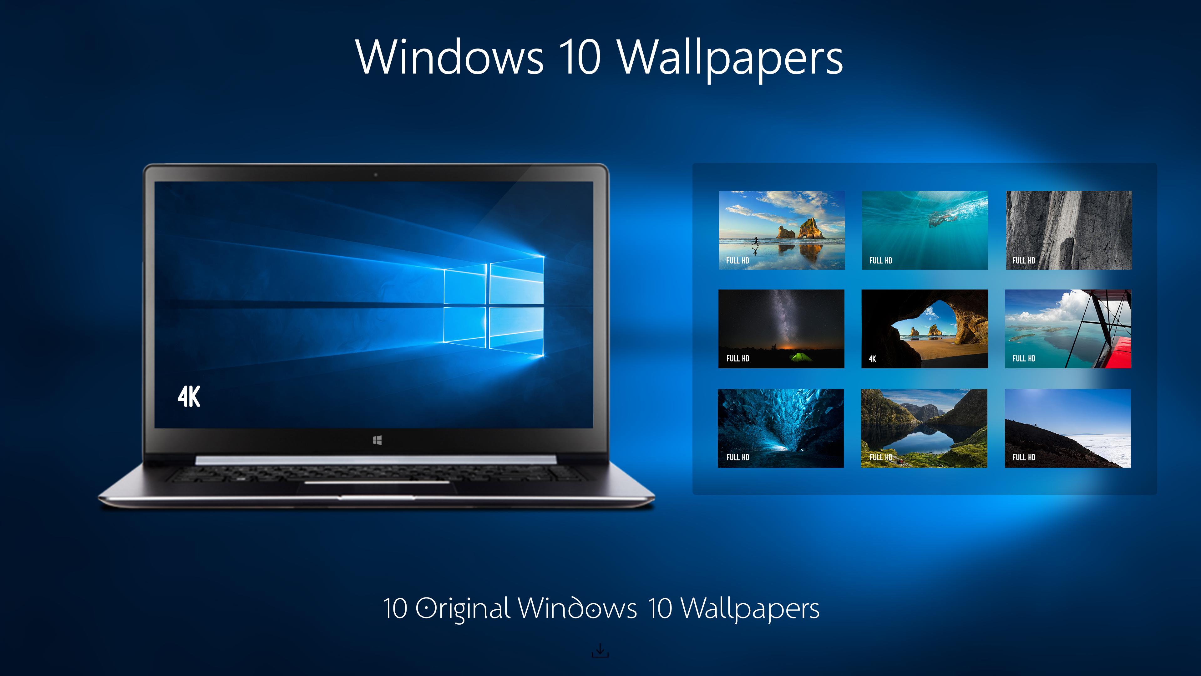Windows 10 hero wallpaper 4k wallpapersafari - Windows 10 4k wallpaper pack ...
