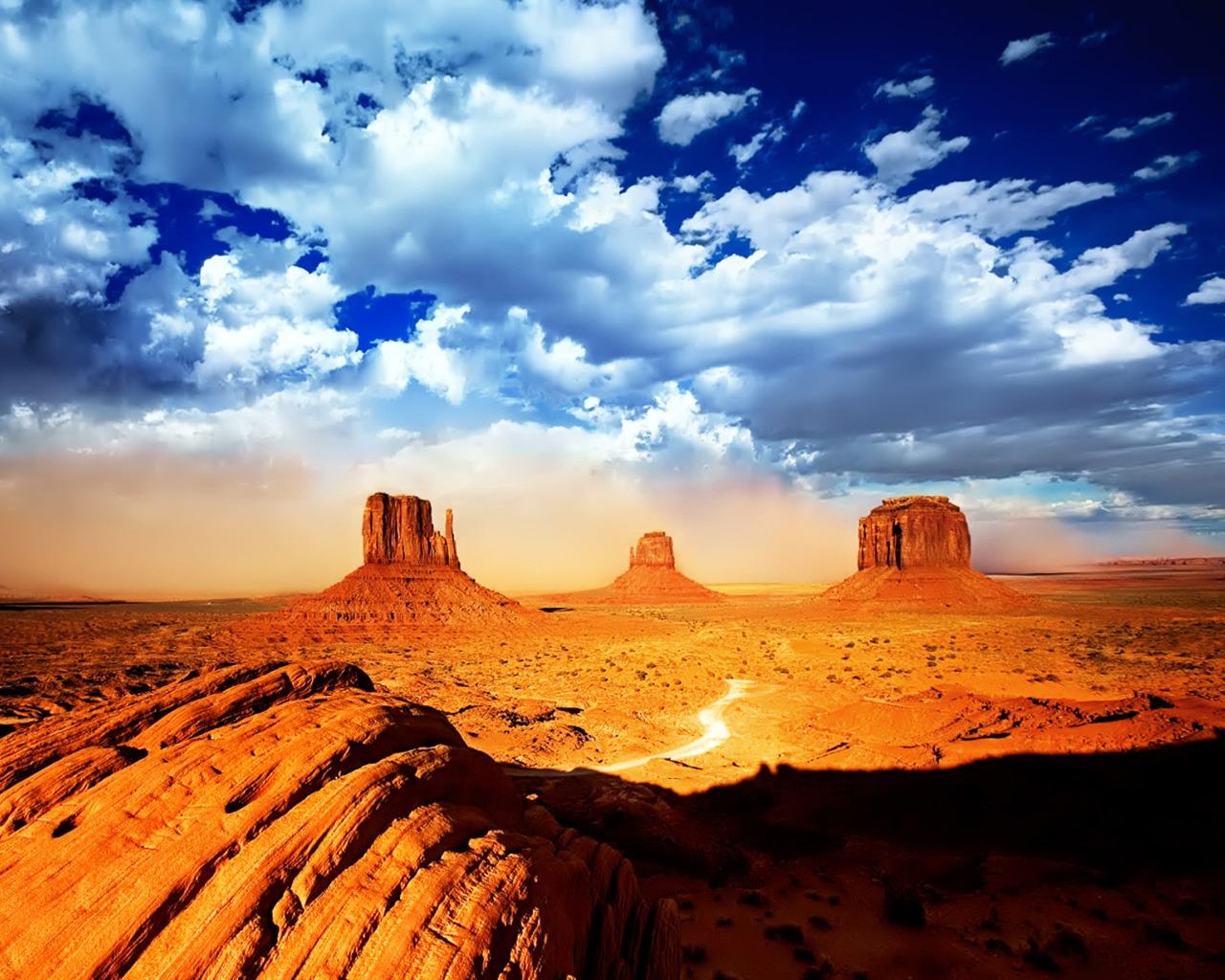Arizona S Sonora Desert Wallpaper PicsWallpapercom 1280x1024