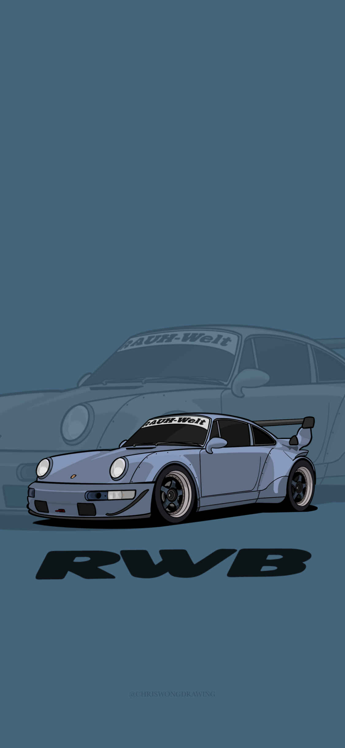 RWB Porsche iphone Wallpaper HD in 2020 Car iphone wallpaper 1125x2436