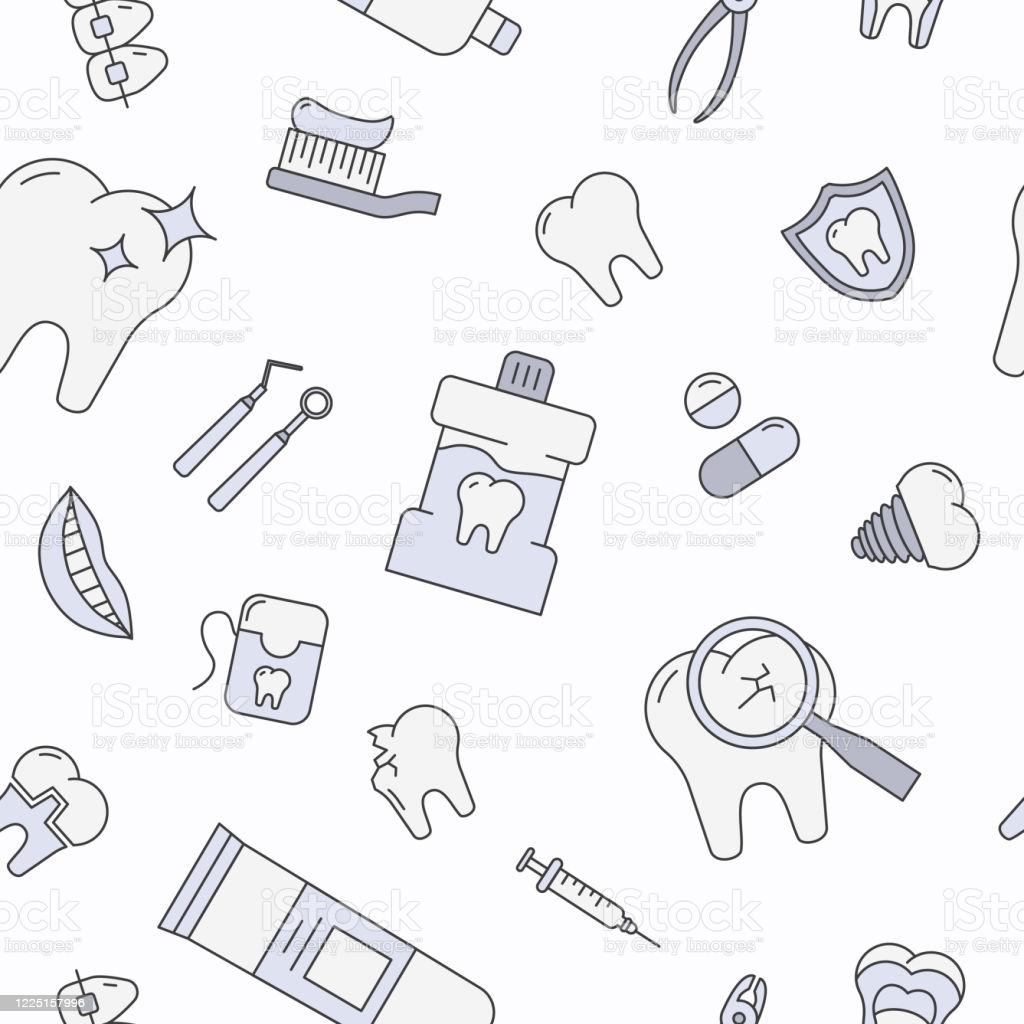 Dentist Background 0105 Stock Illustration   Download Image Now 1024x1024