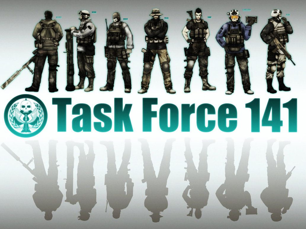 Task Force 141 Wallpapers 1033x774