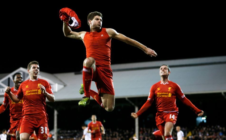 Liverpool captain Steven Gerrard backs vice captain Jordan 952x589