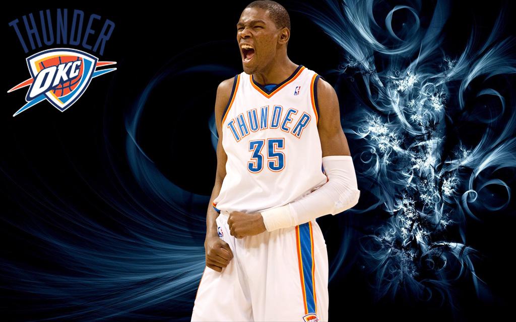 Kevin Durant wallpaper Oklahoma City Thunder 1024x640