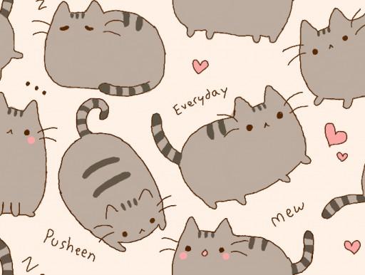 Pusheen Cat Wallpaper Pusheen wallpaper by tomas 512x386