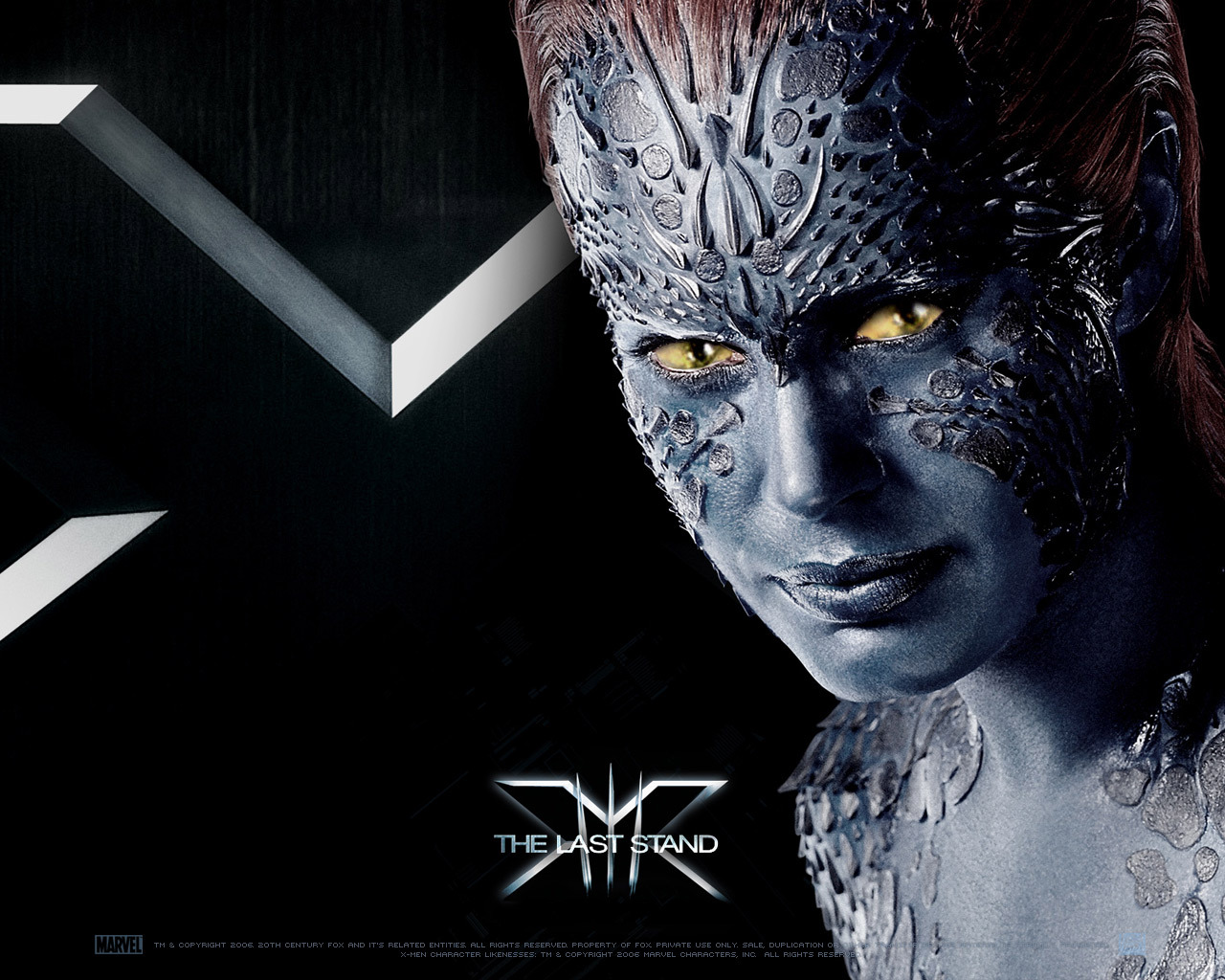 Mystique   X Men Wallpaper 905165 1280x1024