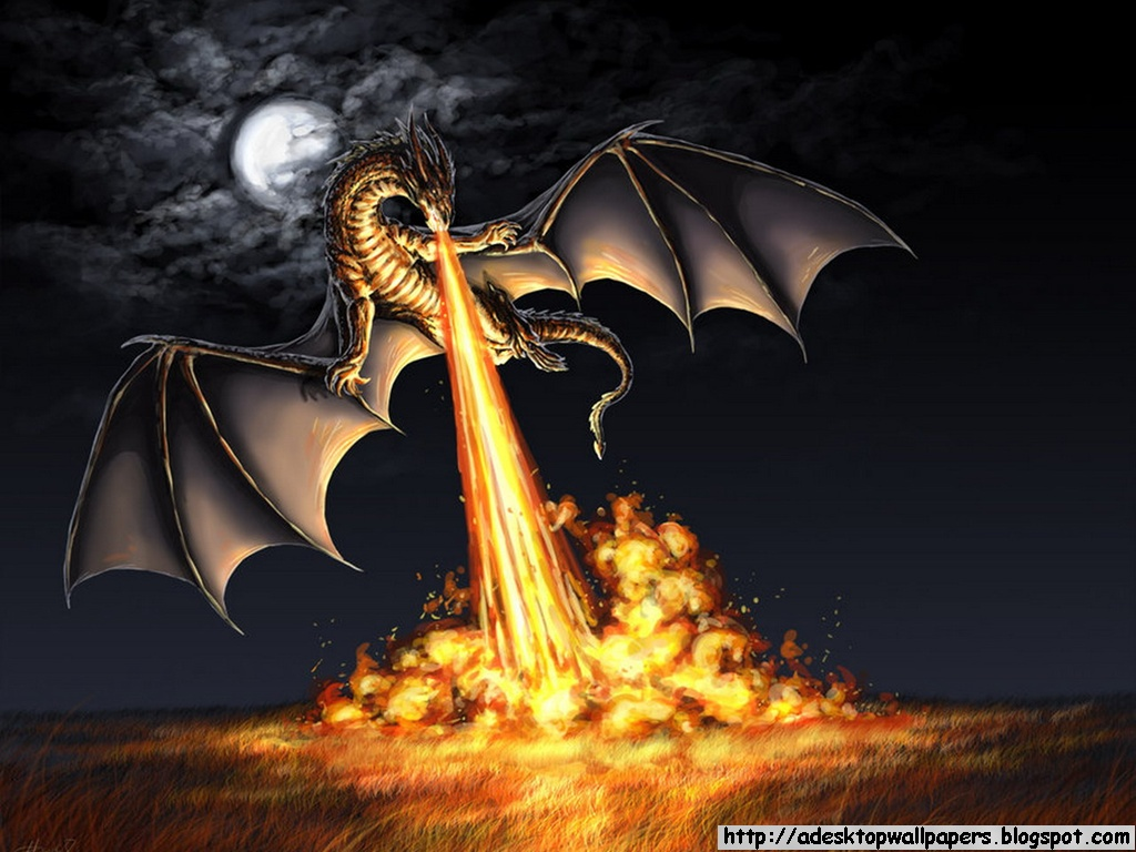 Dragon Fantasy Desktop Wallpapers 1024x768