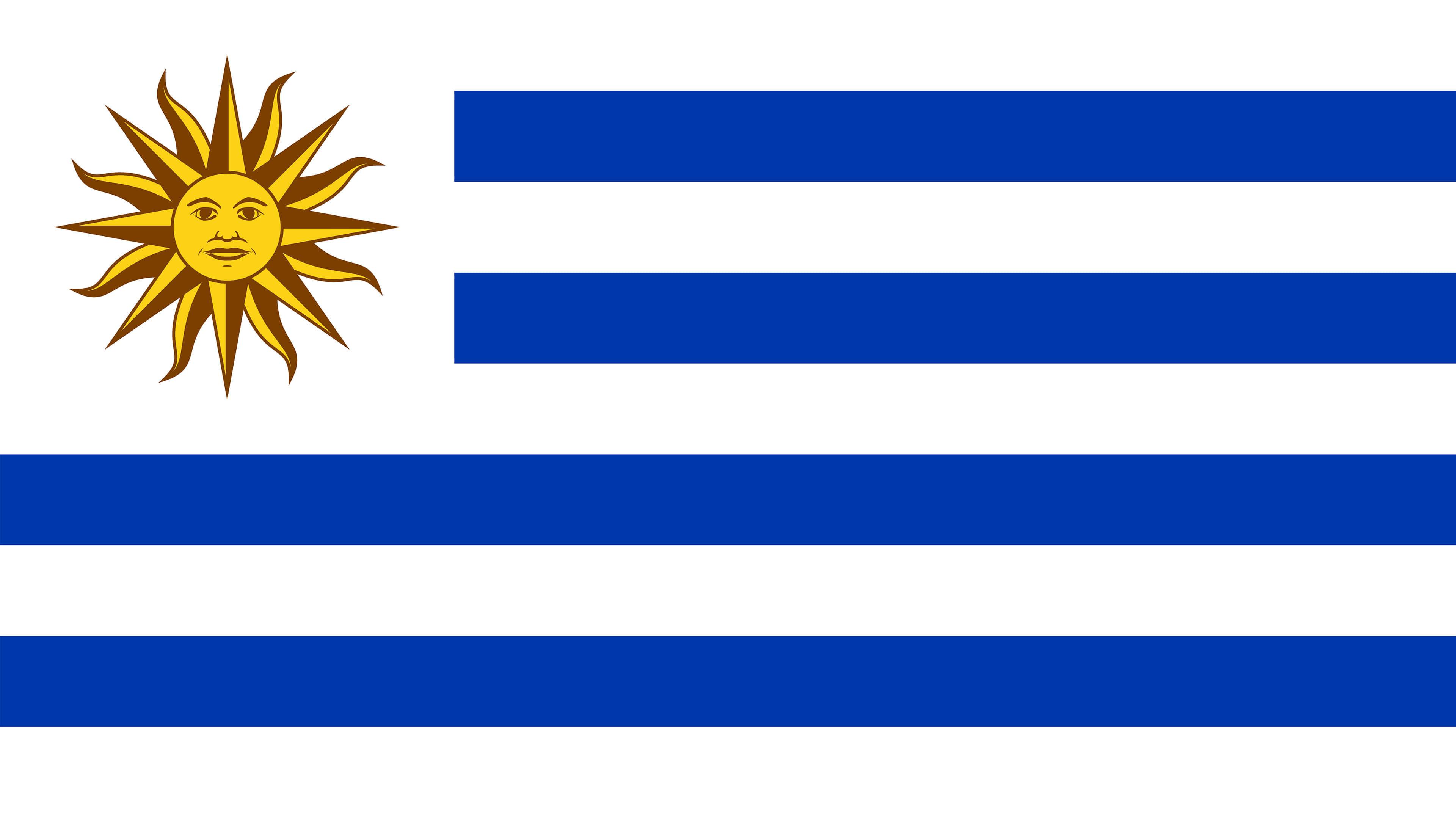 Uruguay Flag UHD 4K Wallpaper Pixelz 3840x2160