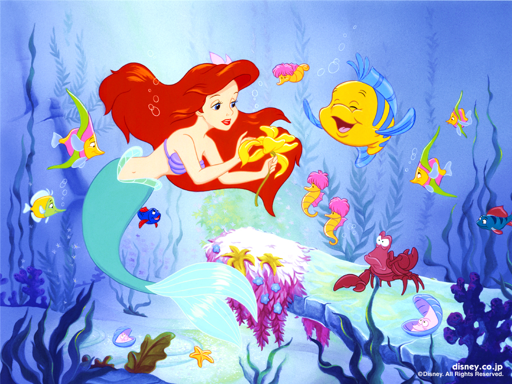 Free Download The Little Mermaid Wallpaper The Little