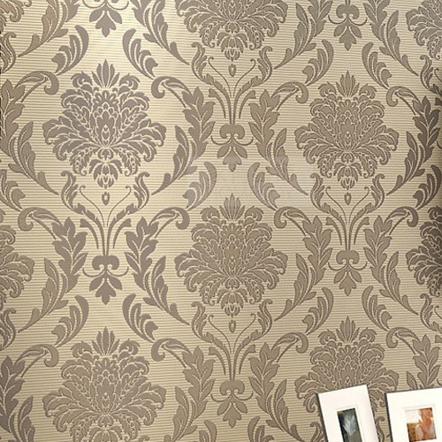 Damask Floral Wallpaper Luxury 3D Wall Paper Roll Europe Vintage 500x500