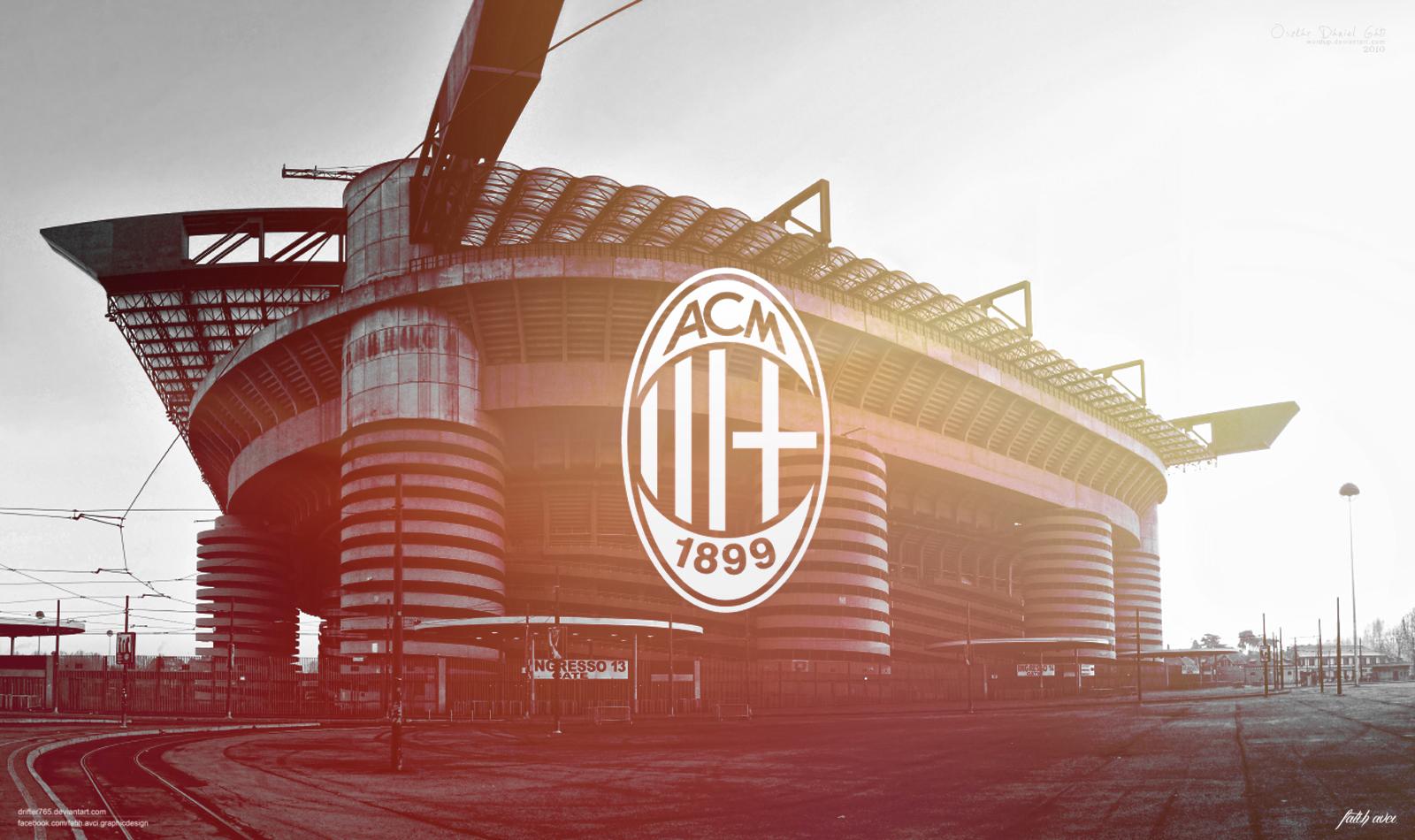 AC Milan by drifter765 1600x950