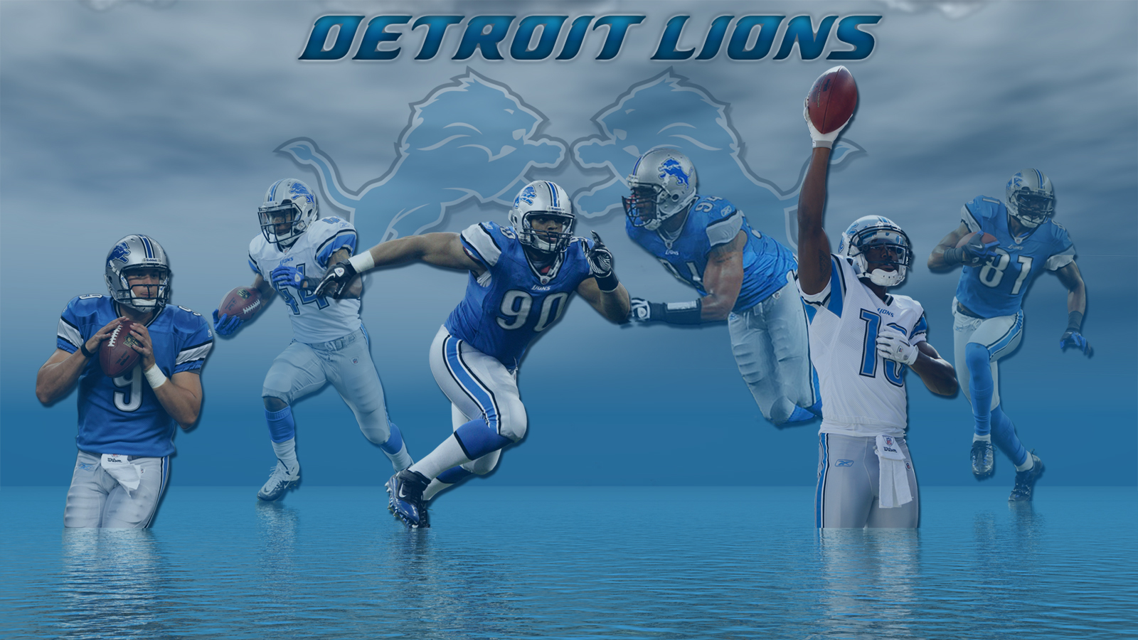 Wallpapers By Wicked Shadows Detroit Lions Lake Michigan Wallpaper 1600x900