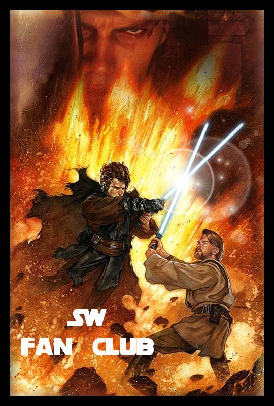 Anakin vs Obi wan by LightDark 540x800