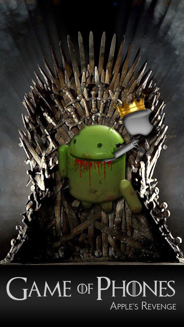 Game of Phones iPhone 5 Wallpaper 640x1136 640x1136