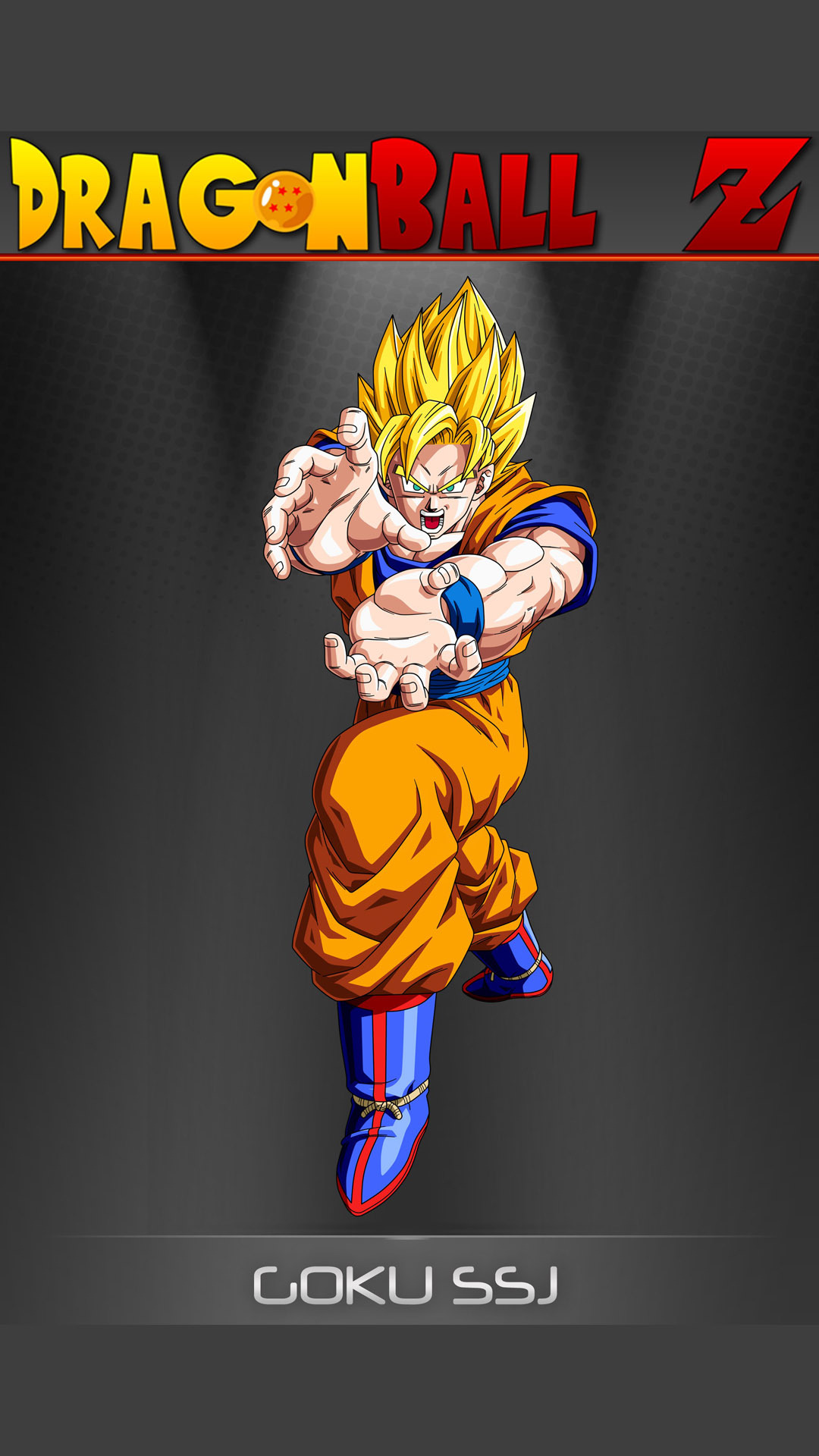 Goku   Dragon Ball Z Mobile Wallpaper 12333 1080x1920