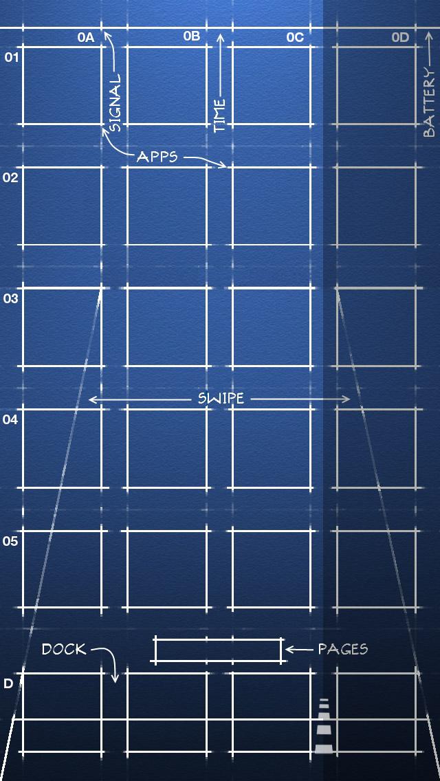 iPhone 5, iOS 6 Blueprint Wallpaper (640x1136) by Nikolia982003 on ...