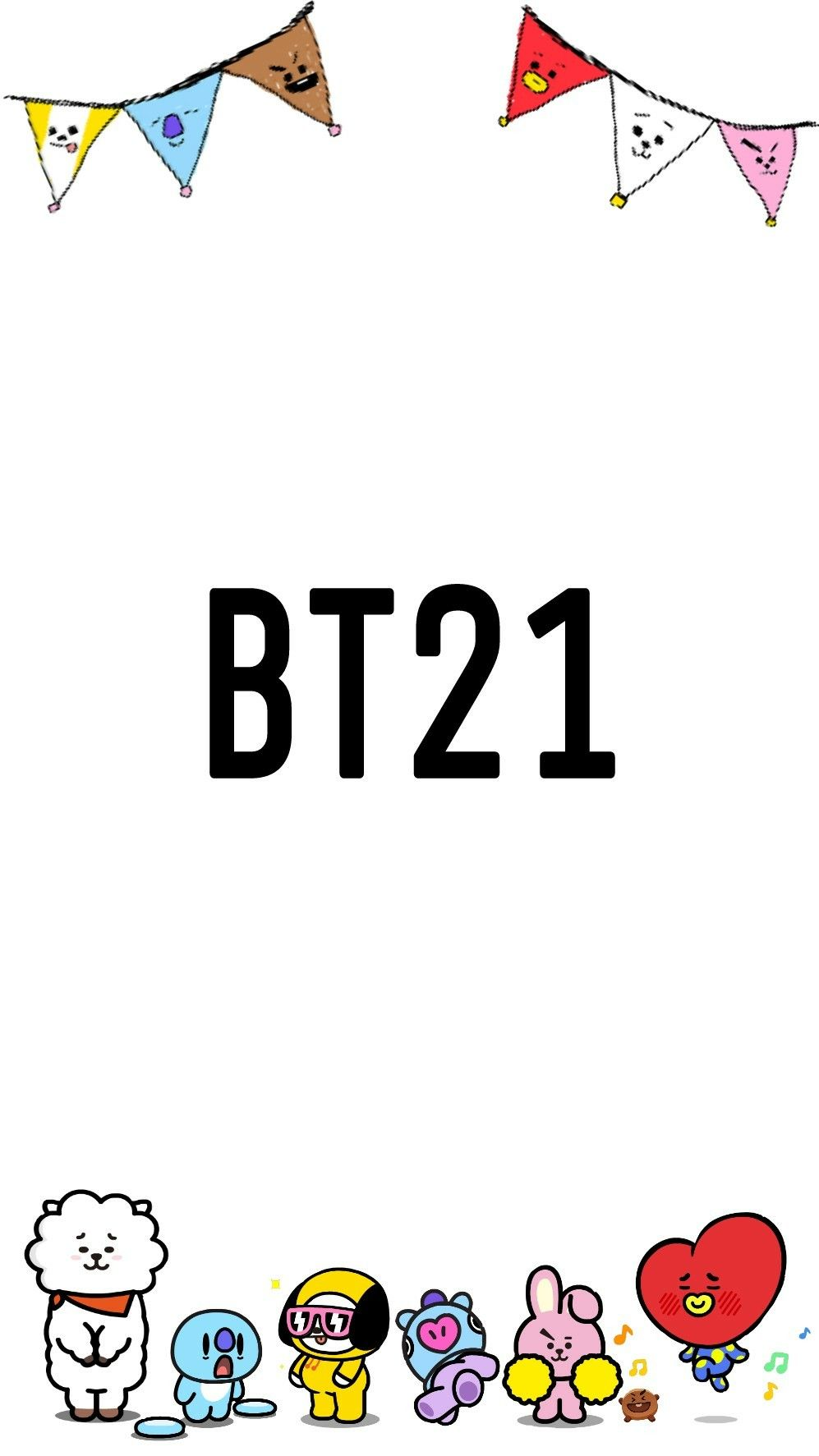 Bts BT21 Wallpaper Kpop pics Pinterest BTS 997x1773