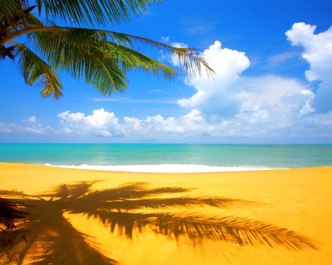 Computer Wallpaper of the Beach wallpaper wallpaper hd 1280x1024