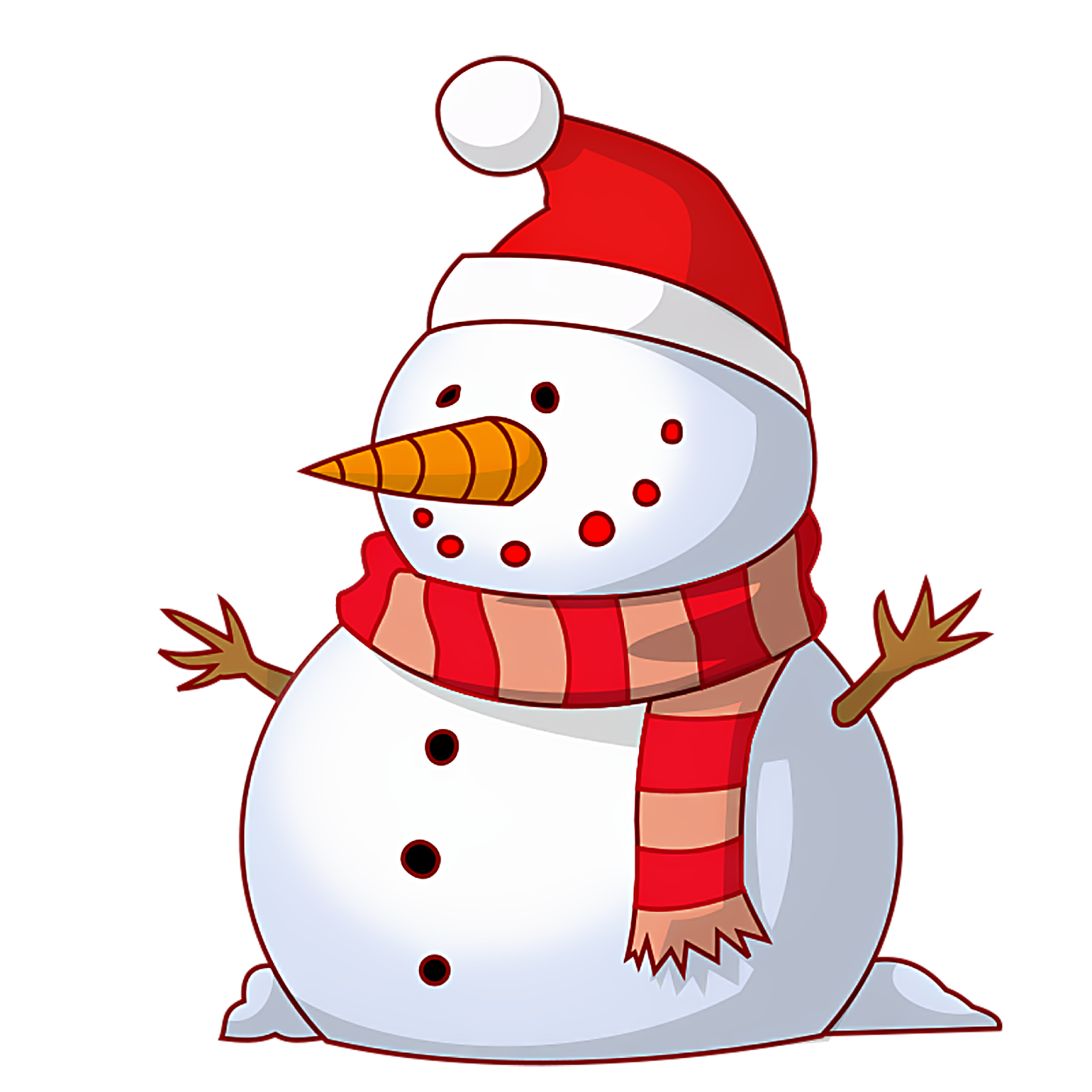 Merry Christmas Snowman Clipart HD for Wallpapers and Cards HD in PNG ...