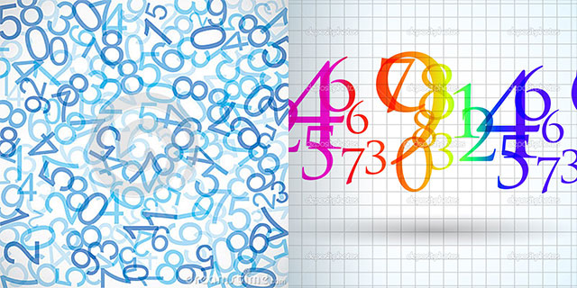 Math Numbers Background wwwpixsharkcom   Images 640x320