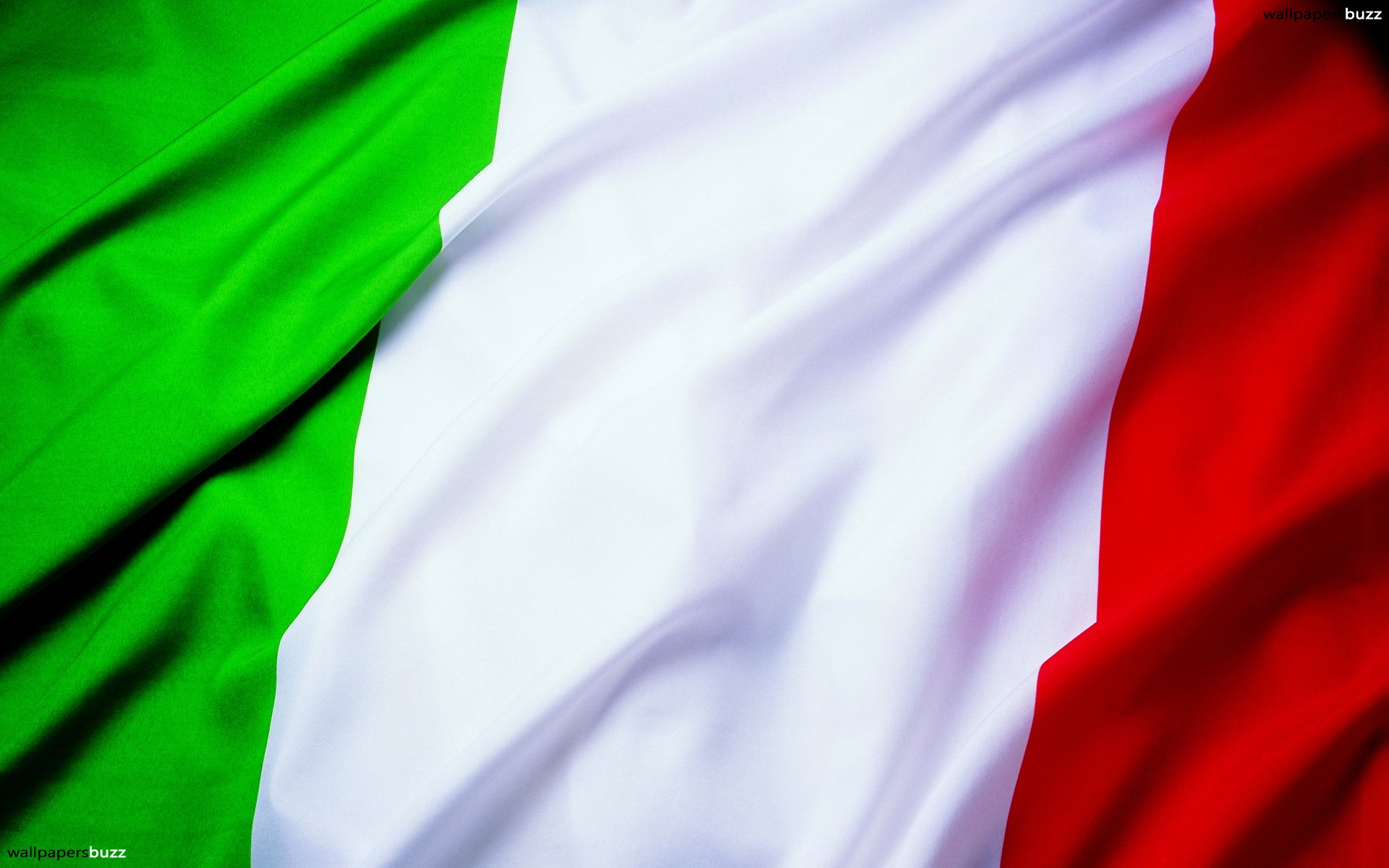 The flag of Italy HD Wallpaper 1920x1200