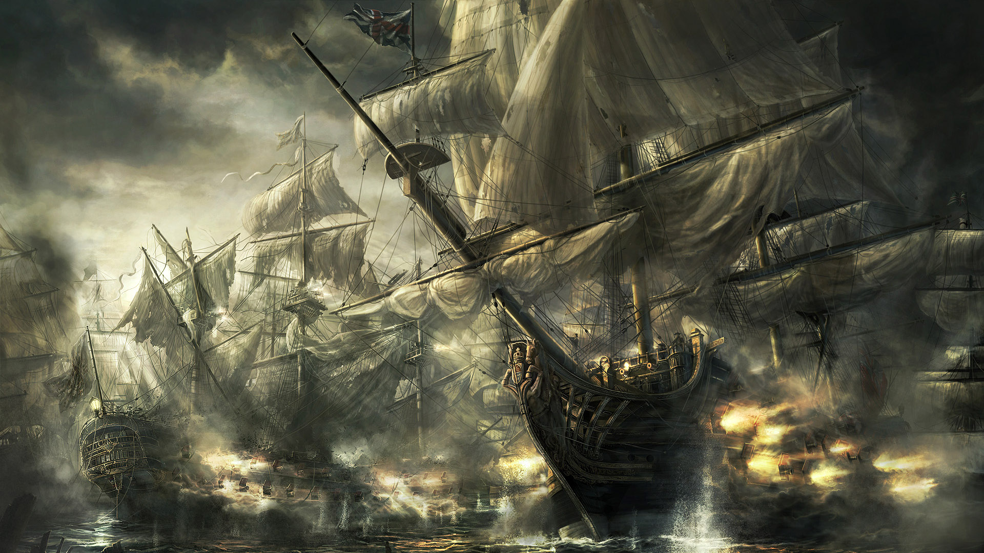 War Background Ship Ps3 Massive wallpapers HD   154285 1920x1080