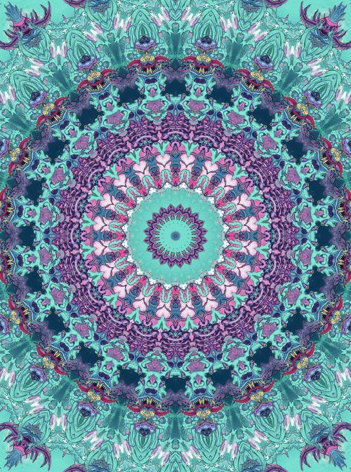 Amo Mandalas Flower Of Life Mandala Painting and 500x673