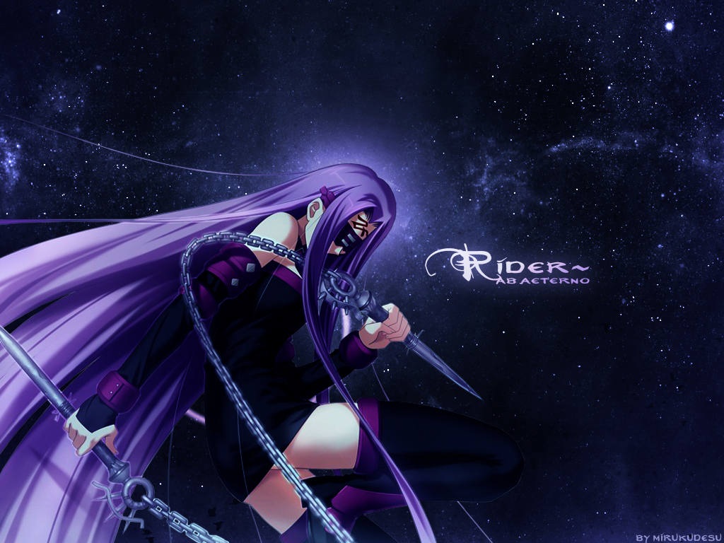 Fate Stay Night Rider Wallpaper