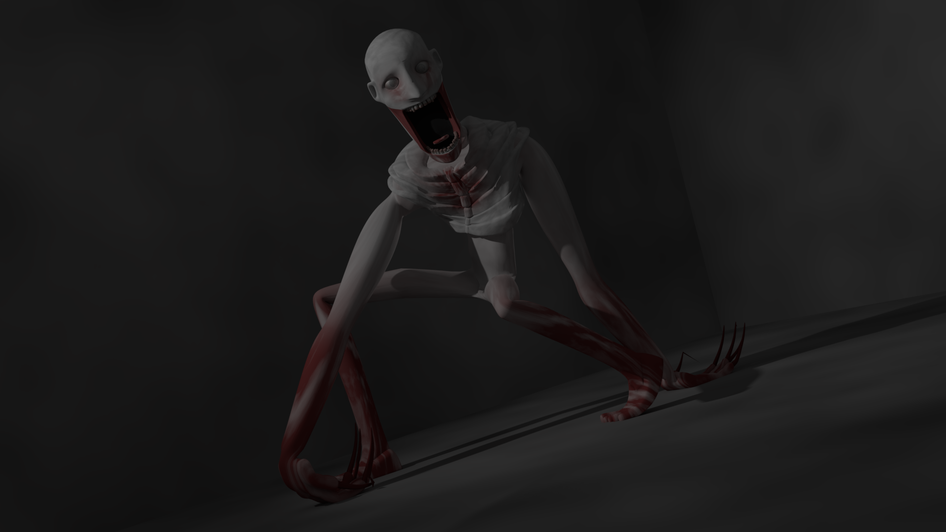 SCP 096   View at your own risk [BLENDER] SCP 1920x1080