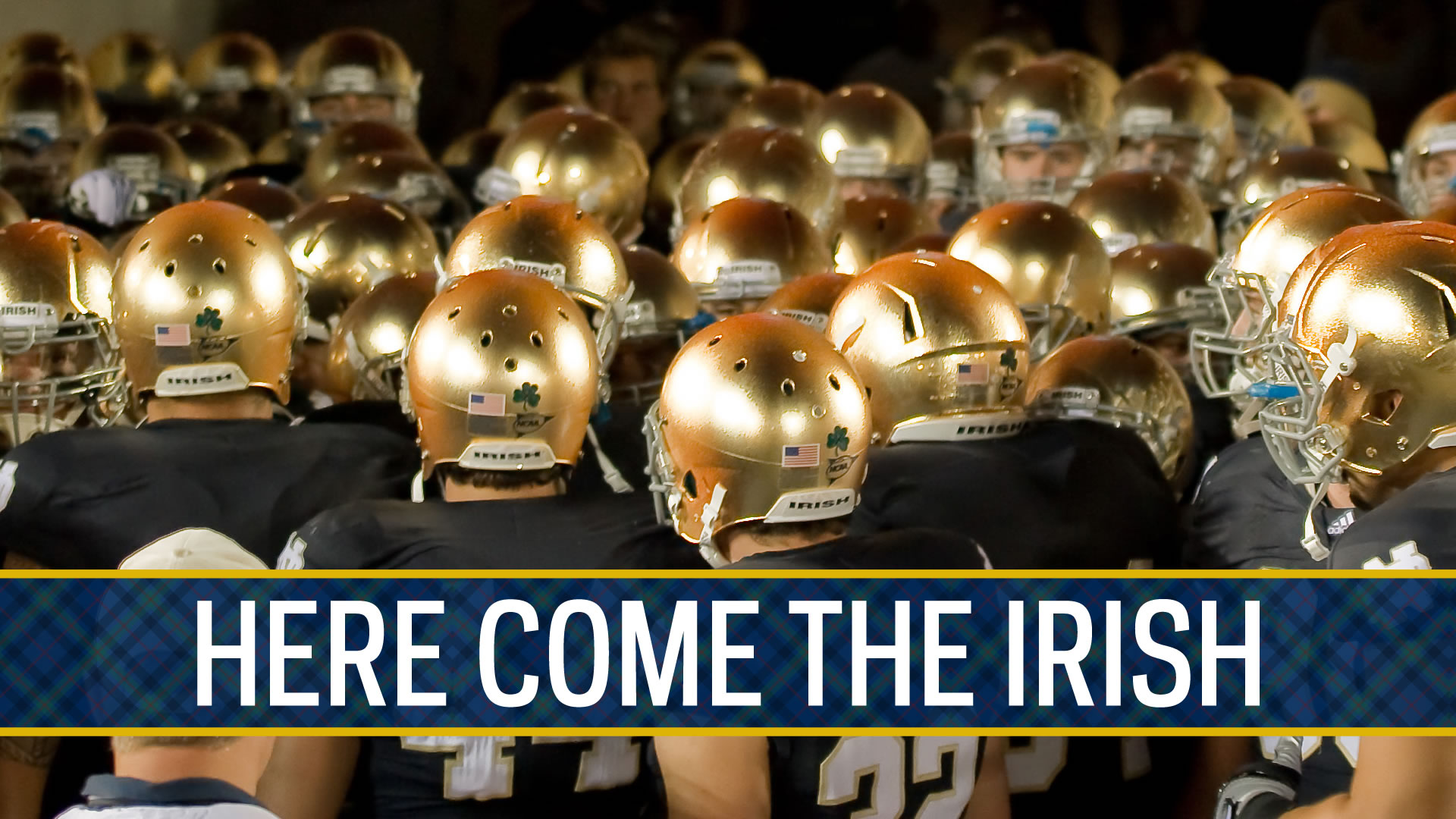 Notre Dame Irish Football 1920x1080