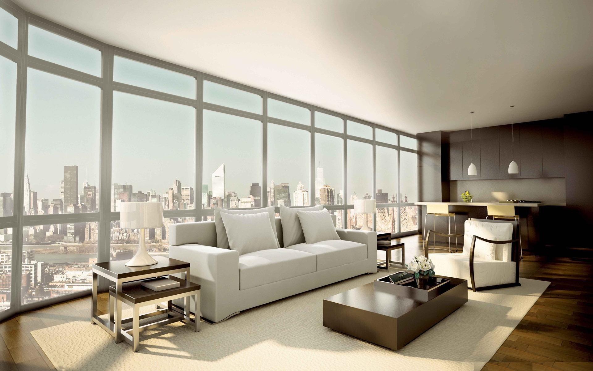 Flat Interior Design Wallpaper HD Wallpapers 1920x1200