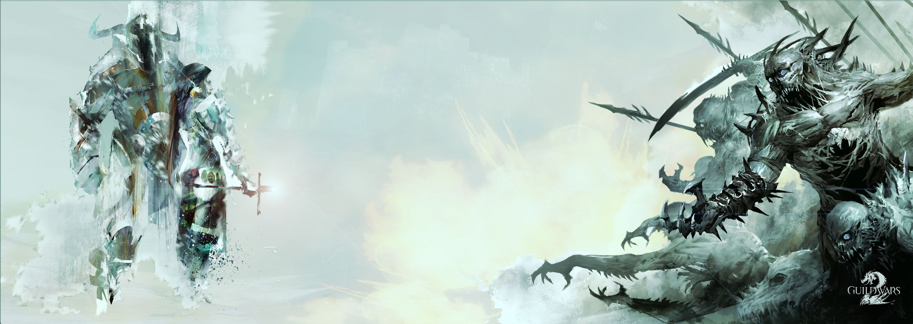 A Guild Wars 2 Wallpaper for the resolution 2960 x 1050 dual 2960x1050