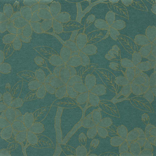 Greene Oriental Papers Little Greene Camellia Calico Wallpaper 500x500