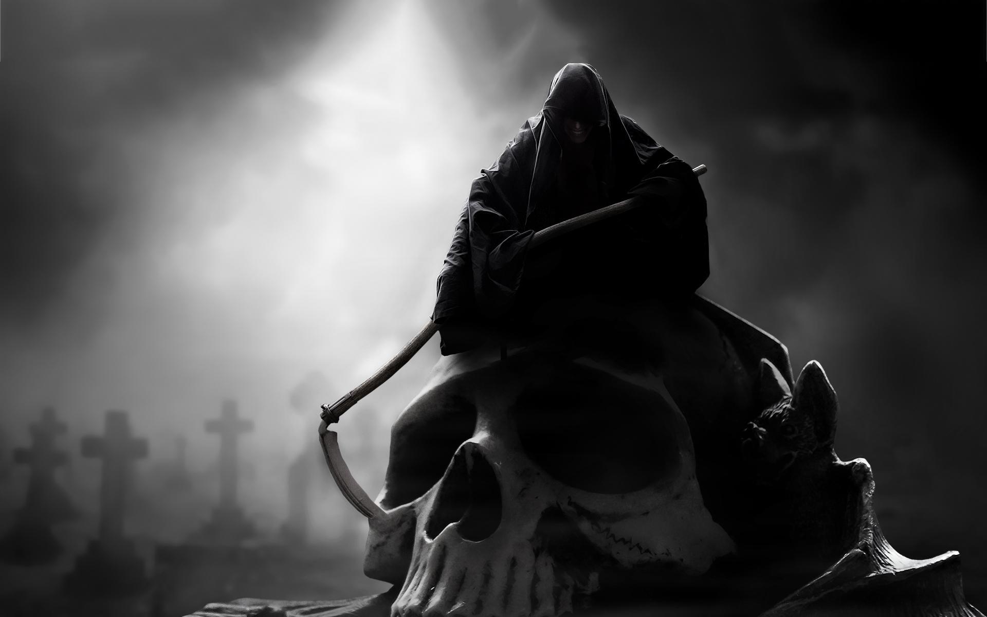 43+ Badass Grim Reaper Wallpaper on WallpaperSafari