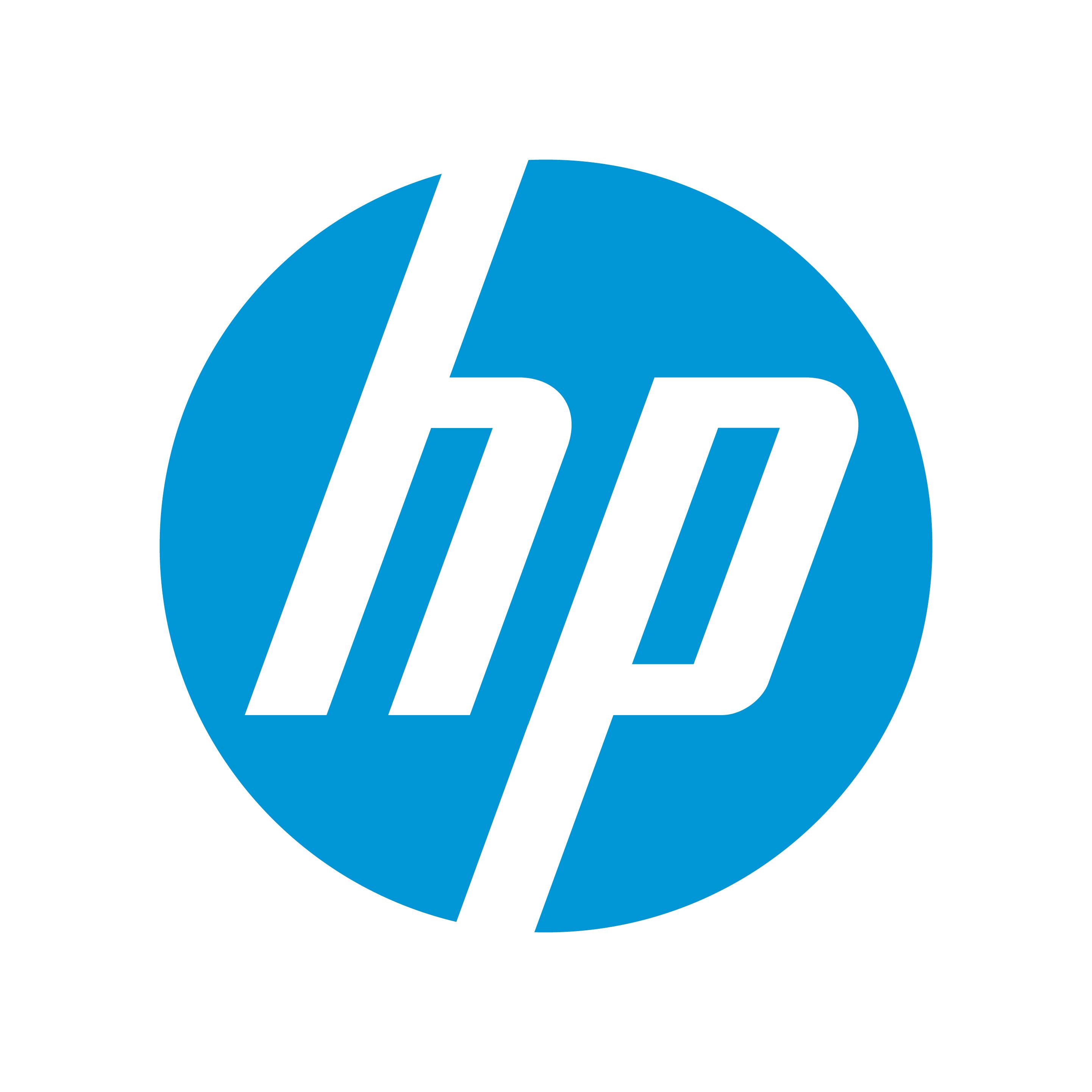 hp logo blue hd - photo #5