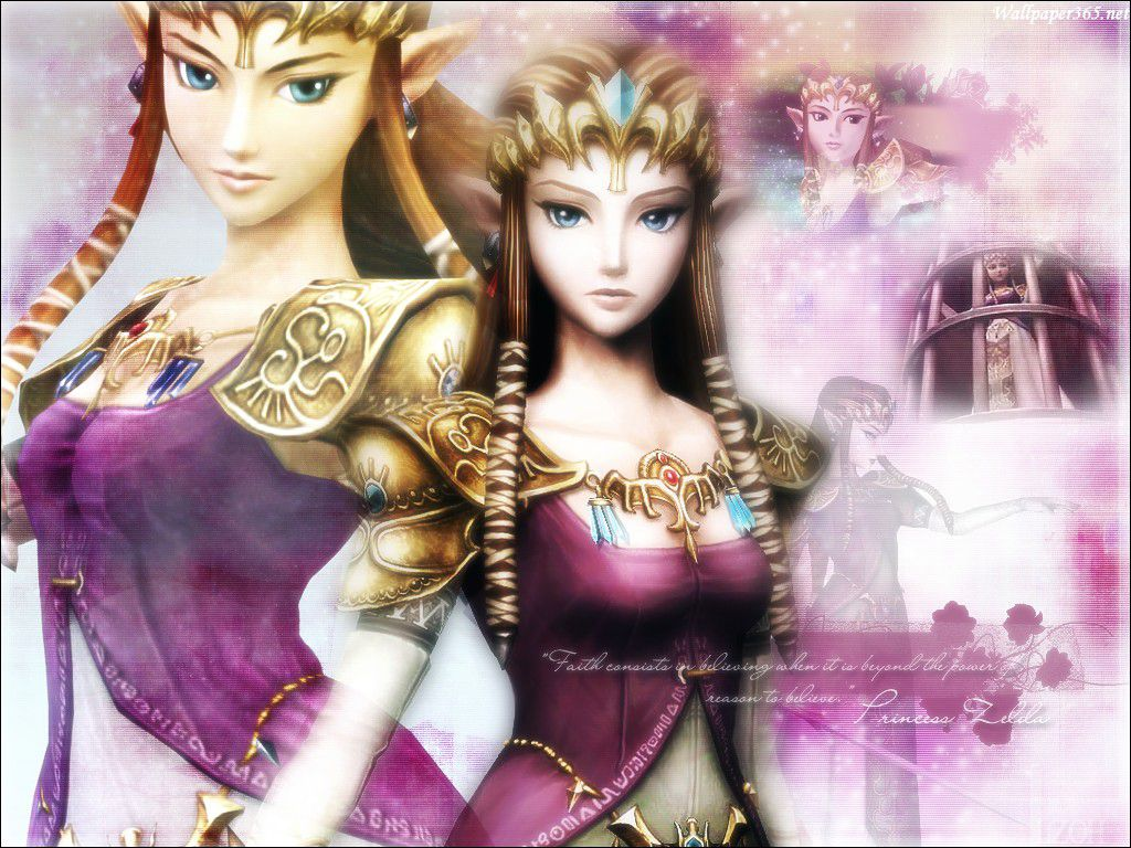 Princess Zelda   wallpaper 1024x768