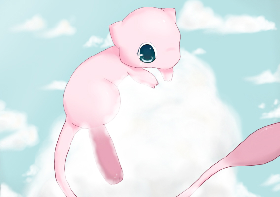 Cute Pokemon Wallpaper Mew Mew 568x401