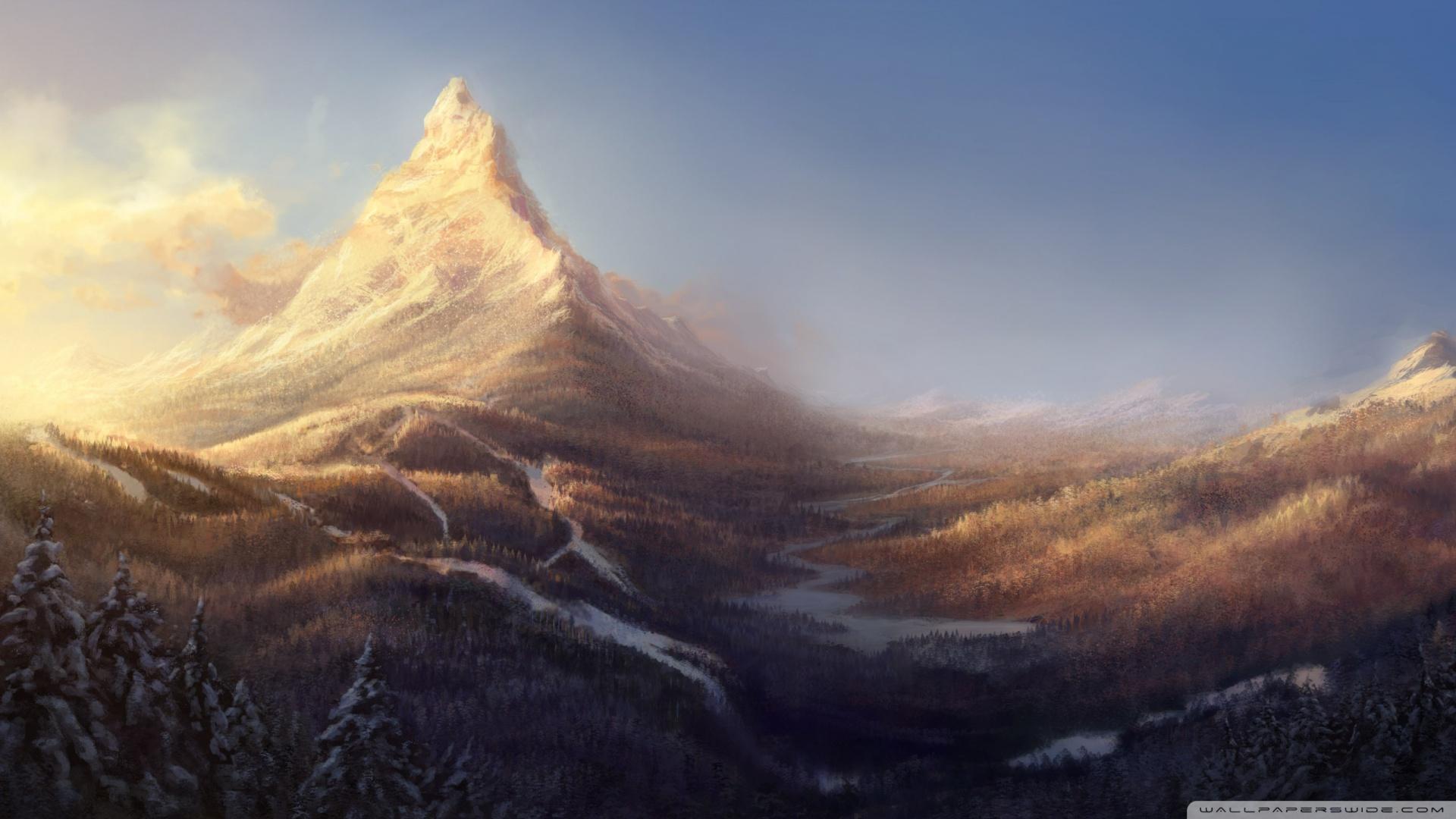 Winter Mountain wallpaper   1043714 1920x1080