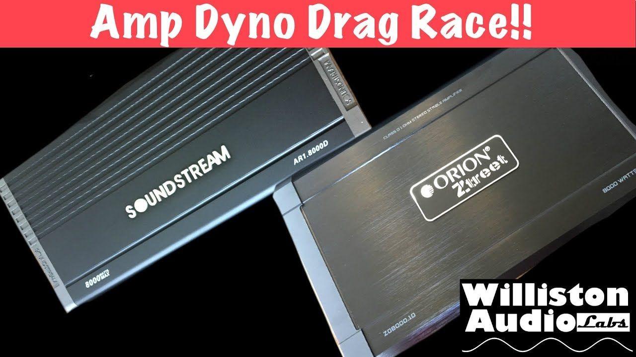 Budget 8000W Amp Dyno Drag Race Orion vs Soundstream BigDWiz 1280x720
