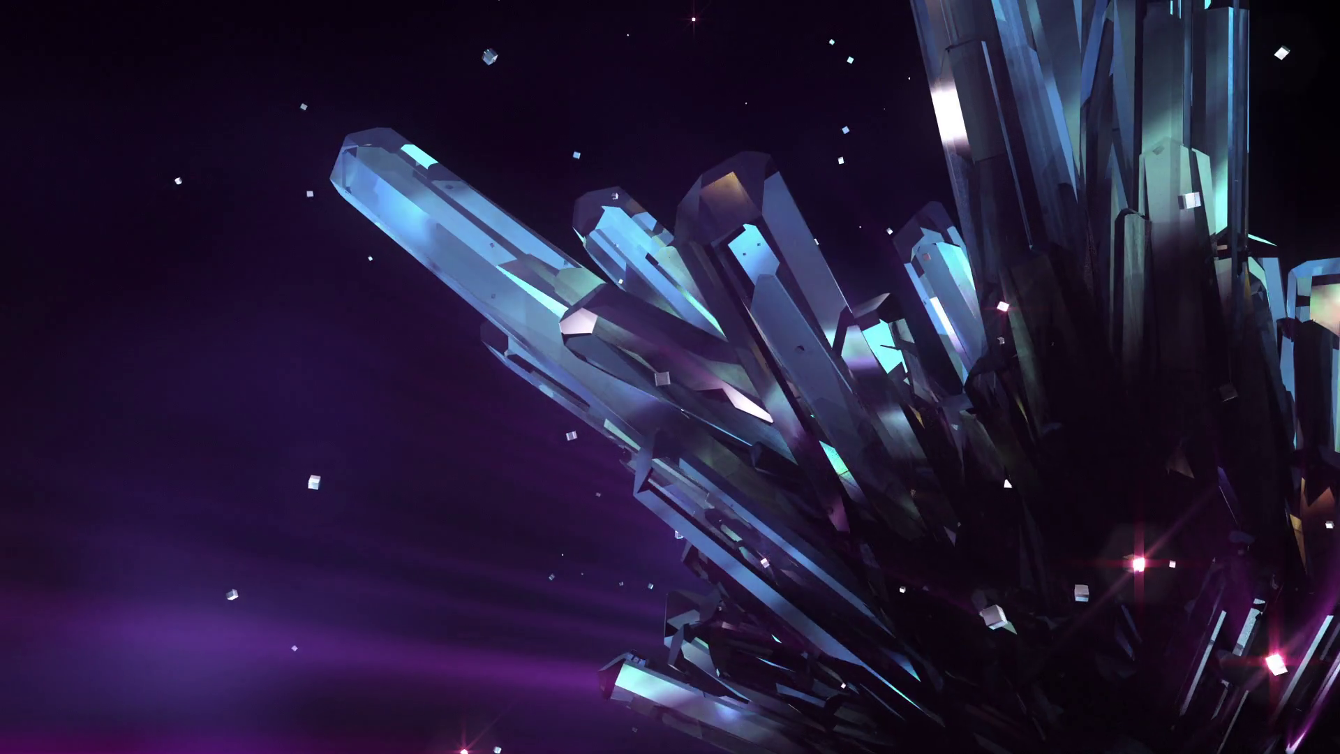 Loopable crystal background High quality loopable background 1920x1080