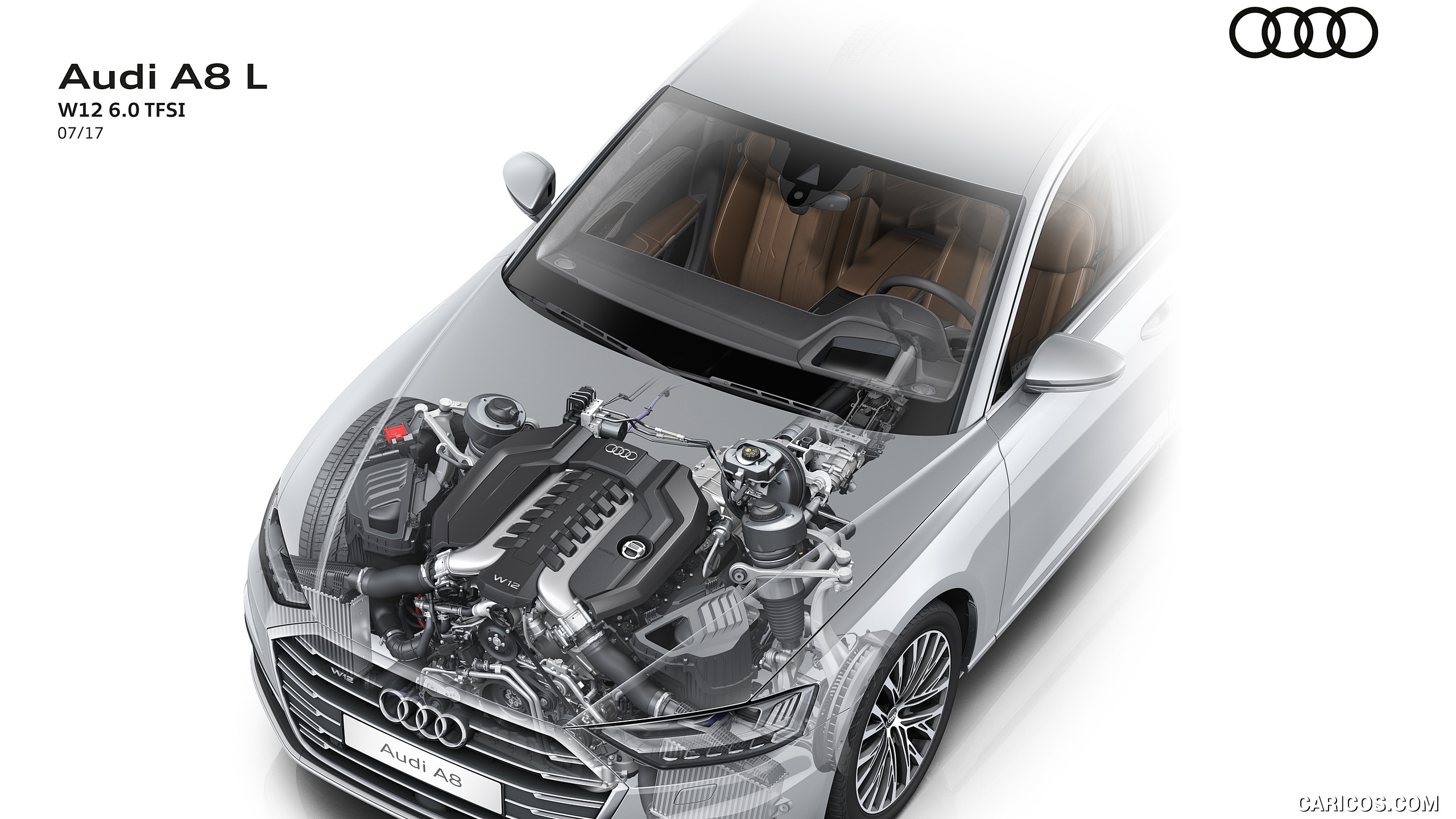 2018 Audi A8   W12 60 TFSI Engine HD Wallpaper 60 2560x1440