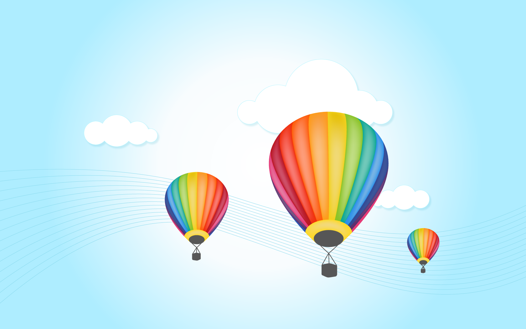 Love Balloon With cartoon Wallpaper : Free Hot Air Balloon Wallpaper - WallpaperSafari