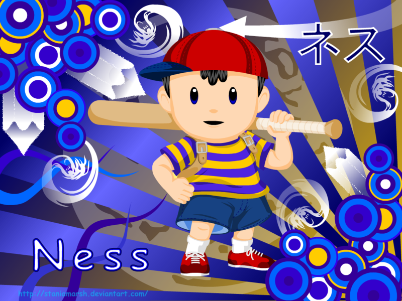 Ness is a fictional character in the EarthBound role playing video 800x600
