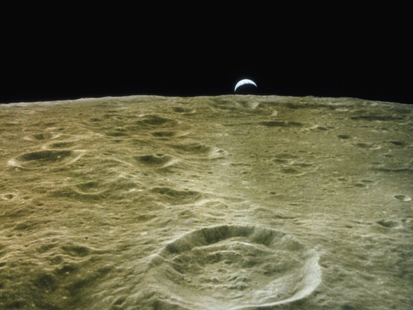 Moonearthrise moon earthrise Moon Wallpapers Desktop 600x450
