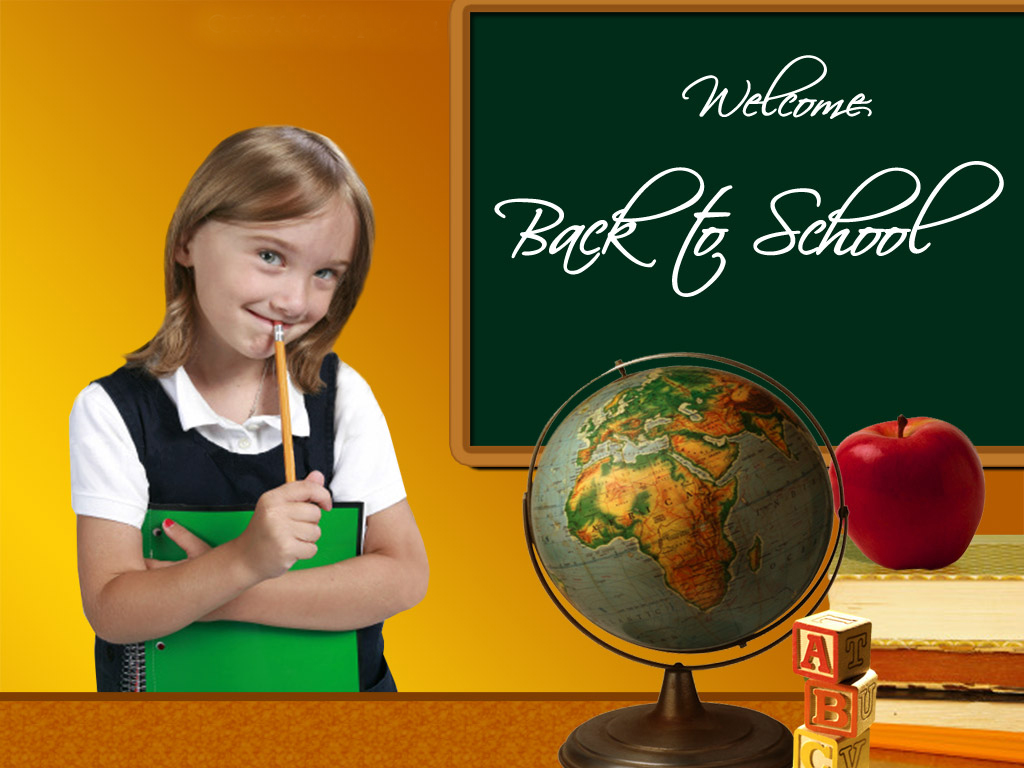 Wallpapers and pictures Welcome back to school wallpaper 1024x768