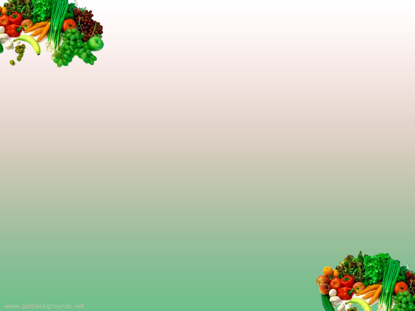 Fruits And Vegetables Backgrounds For PowerPoint   Foods and 1600x1200