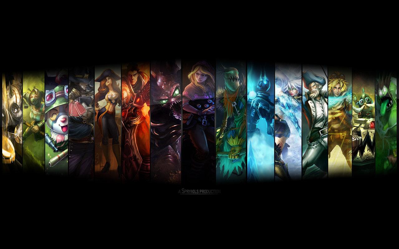 league of legends mobile wallpaper wallpapersafari
