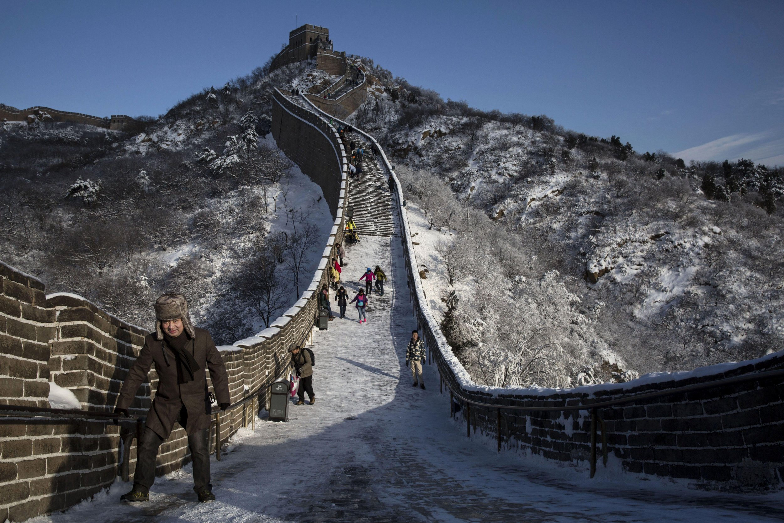 Great Wall of China Collapse Poor Renovation Works And Heavy 2500x1667