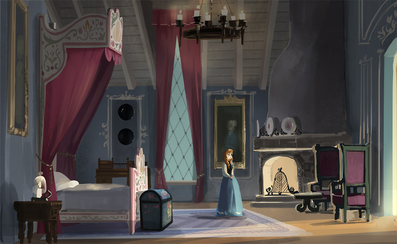Frozen   Early Concept for Annas Bedroom   Frozen Photo 37003139 1280x788