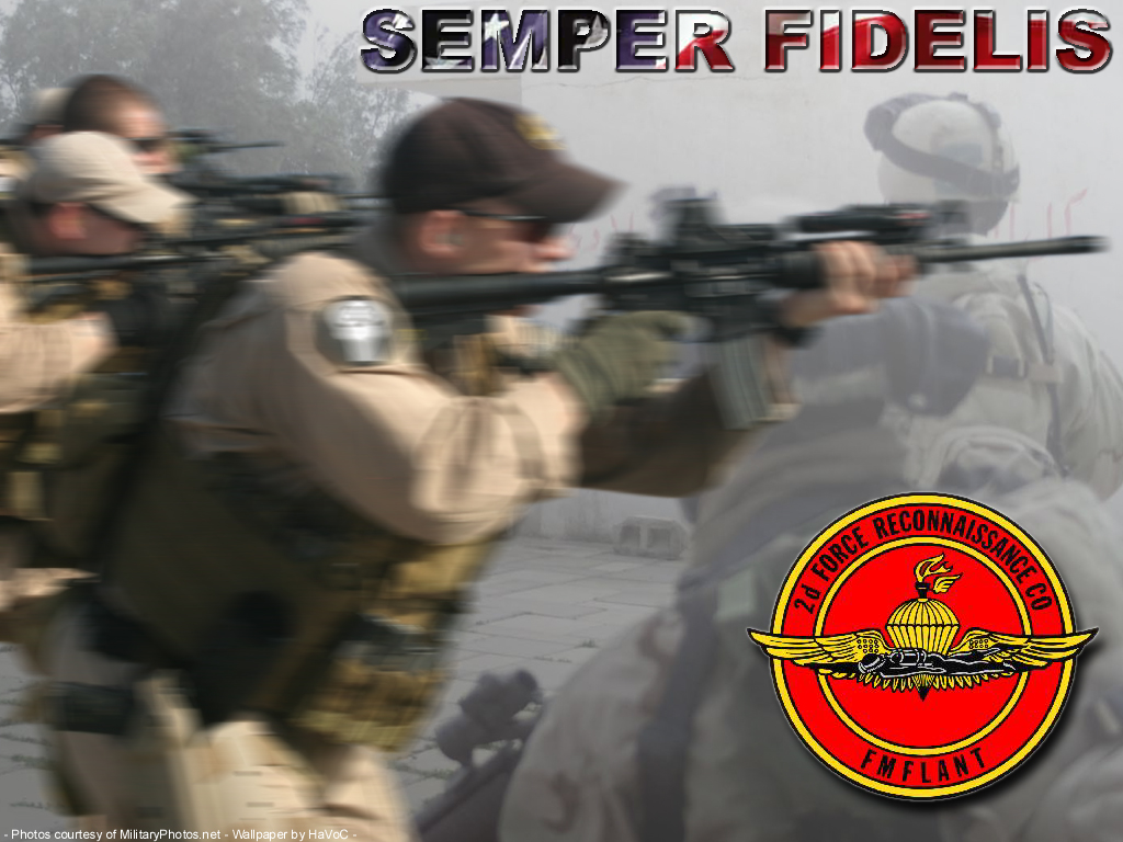 Marine Corps Force Recon Wallpaper Usmc force recon by havocman 1024x768