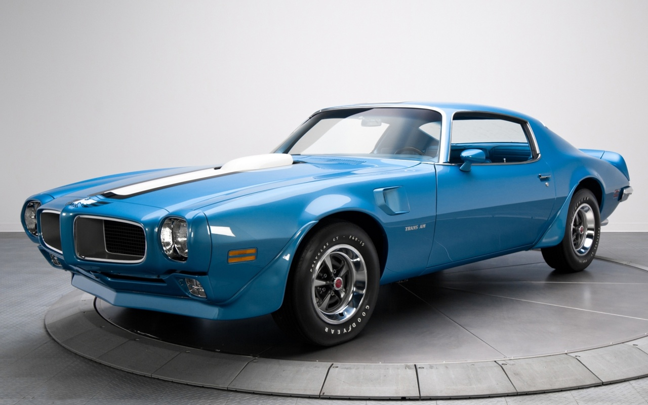 Pontiac Firebird Trans Am Muscle Car HD Wallpapers 1280x800
